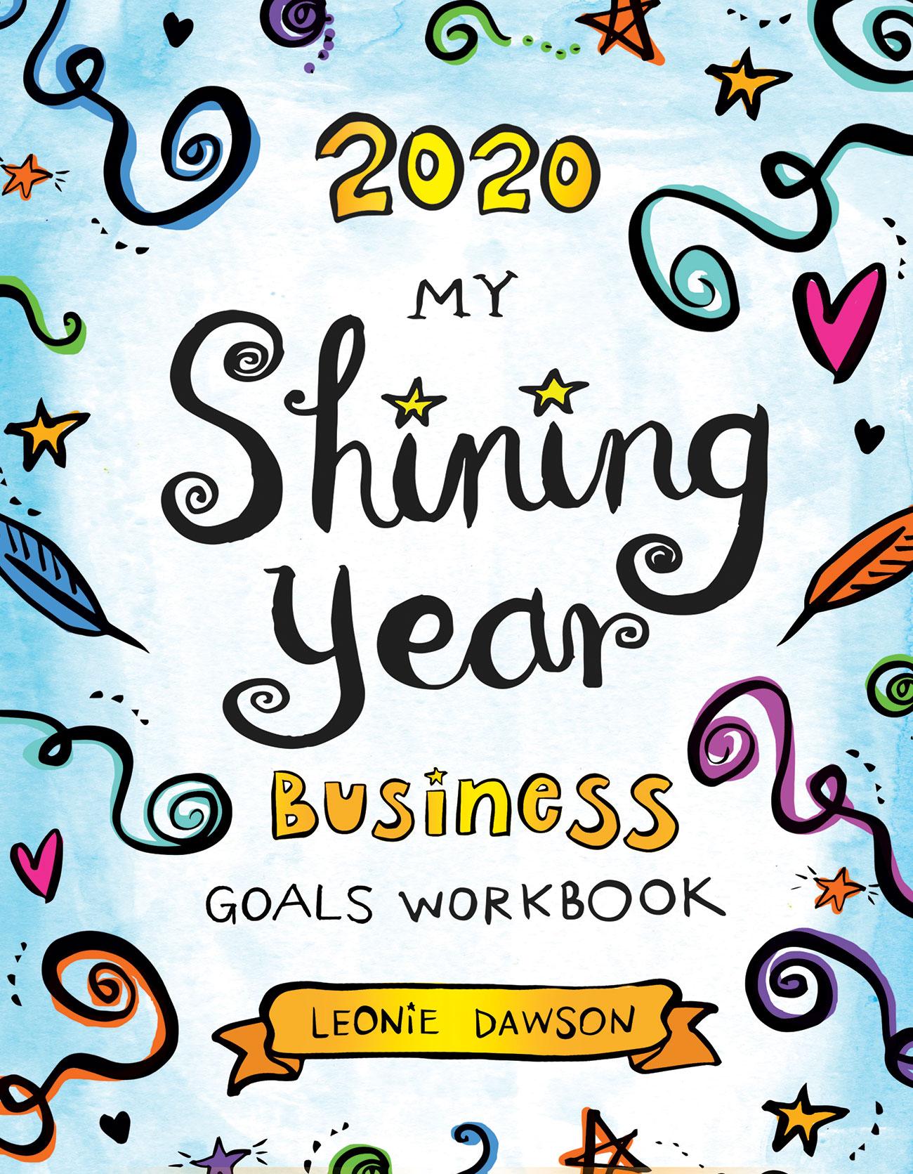 Do It Best Fall Market 2020 2020 My Shining Year Business Goals Workbook   BenBella Books